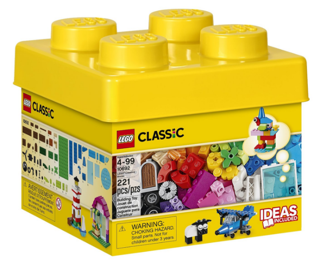 Get the LEGO Classic Creative Bricks for just $11.99 right now -- the lowest price ever on record!