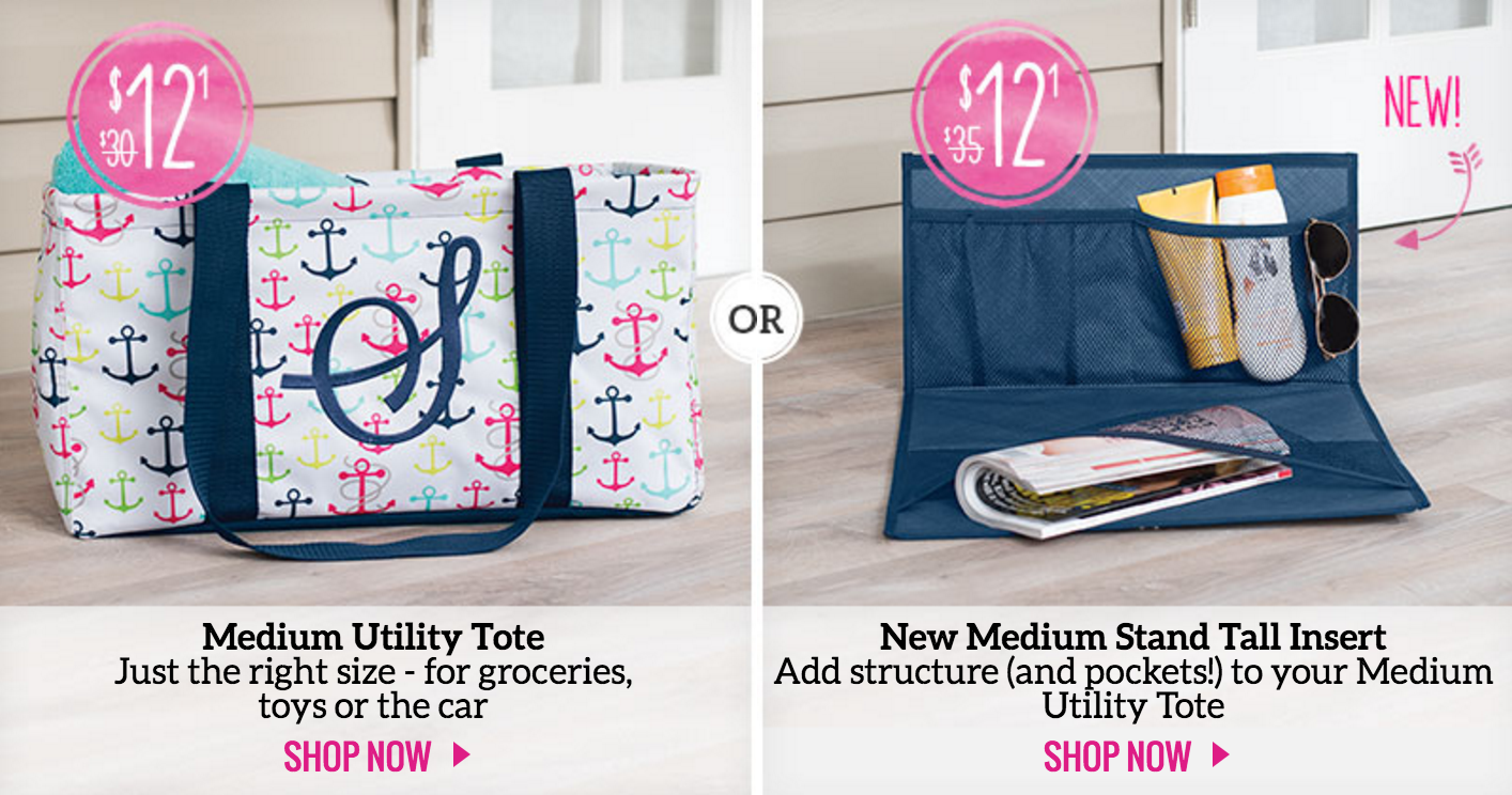 487d11dfa5afb Win a Thirty-One Gifts Medium Utility Tote and Medium Stand Tall ...