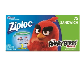 Get Ziploc Angry Birds Bags for just $0.85 after coupons!