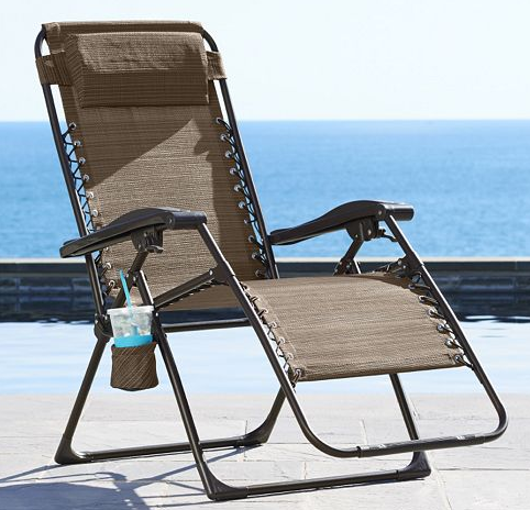 Get the Sonoma Patio Antigravity Chair for just $25.49 shipped at Kohl's!