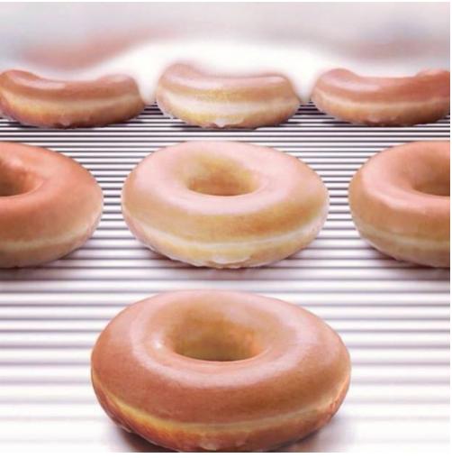 Buy one dozen doughnuts, get one dozen for $0.79 on July 13, 2016 at Krispy Kreme.