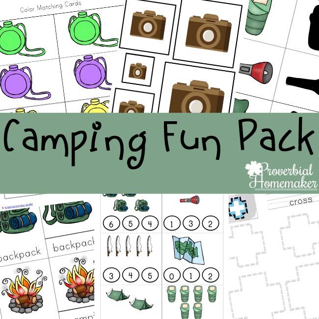 Free Camping Printable Pack