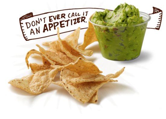 Free order of chips and guac at Chipotle for new rewards members!