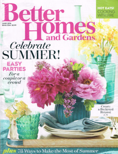 Free Better Homes Gardens Magazine Subscription Money Saving