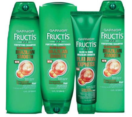 Garnier Fructis Brazilian Smooth Hair Care