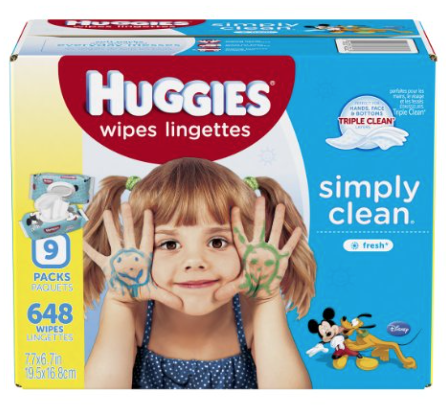 Get Huggies Wipes for just $0.01 per wipe shipped!