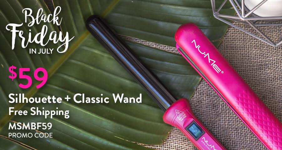 Get a Silhouette Flat Iron and Curling Wand for just $54 shipped total from NuMe right now!