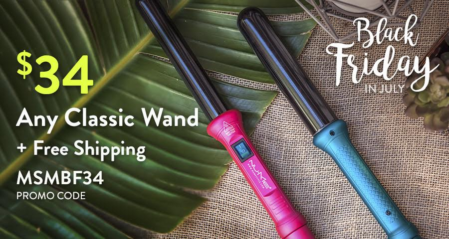 Get any classic wand for just $39 shipped on NuMe right now!