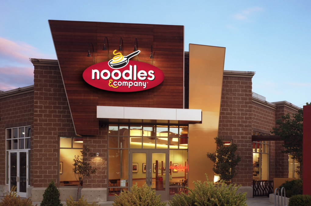 Get $4 off any $10 Noodles & Company online order!