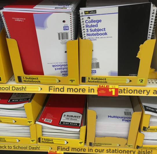 Dollar General Coupon 5 Off 15 School Supplies Purchase Money Saving Mom Money Saving Mom