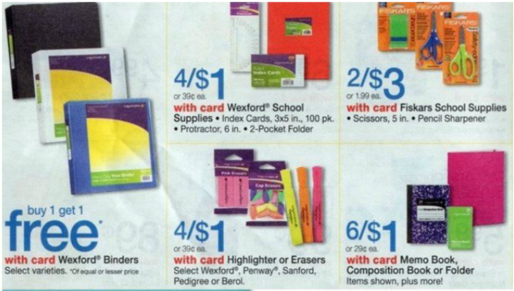 Walgreens Back to School Deals This Week