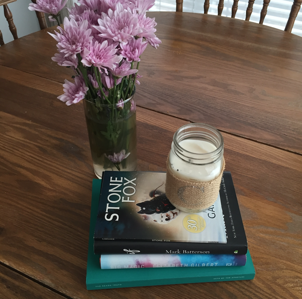 3 Books We Read This Week + a movie we watched