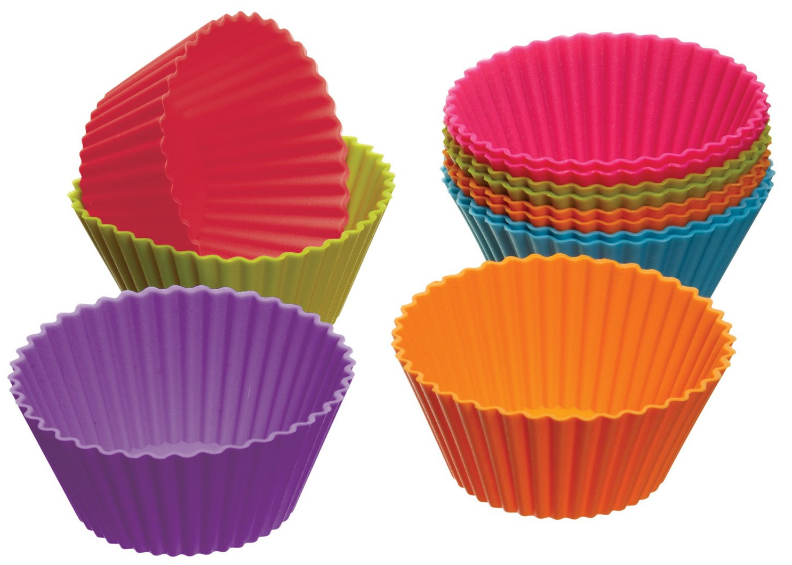 Get a set of 12 silicone muffin cases for just $2.70 shipped right now!