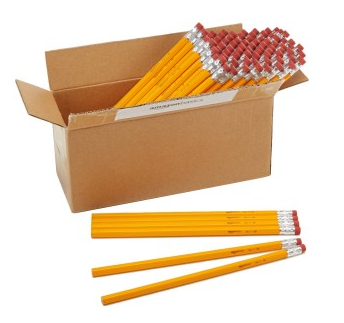 Get the AmazonBasics Wood-Cased #2 Pencils, 96-Pack for just $5.99!!