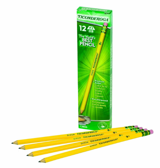 Get Ticonderoga Pencils, 12-Pack for just $1.99!