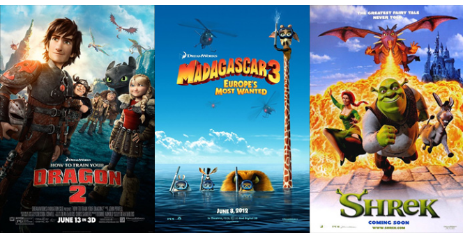 Cinemark is having a free DreamWorks Animation family movie day on August 20, 2016!