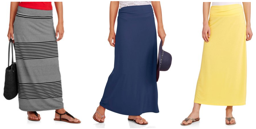 Get Women's Maxi Skirts for just $5 right now!