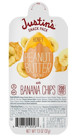 Get Justin's Snack Packs for just $0.75 each at Target with this new coupon!