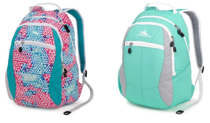 Get High Sierra Backpacks for just $12.49 , regularly $50!!