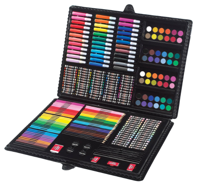 Get the Cra-Z-Art 250 Piece Deluxe Art Set for just $9.37 right now -- the best price on record!