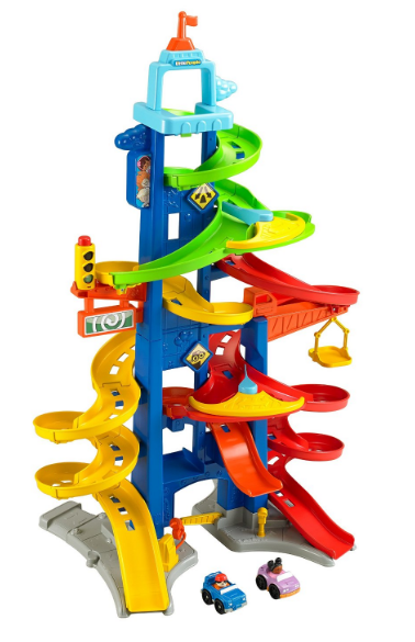 Get this Fisher-Price Little People City Skyway Set for just $25.98 right now!