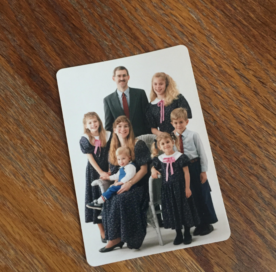 family photo for Legacybox