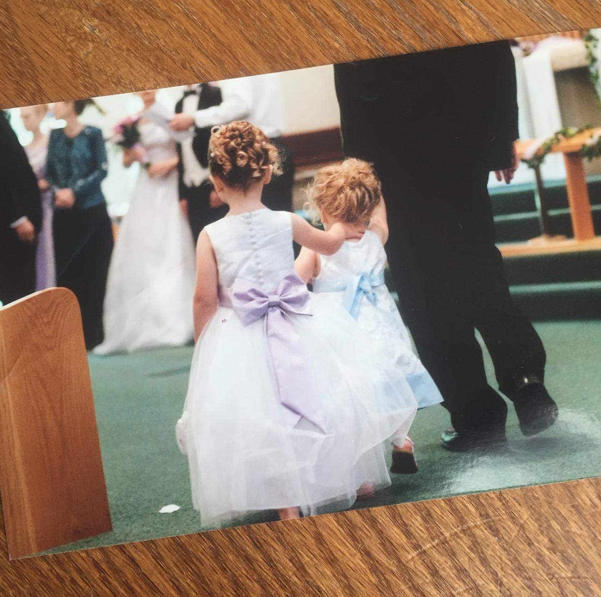 old wedding photo for Legacybox