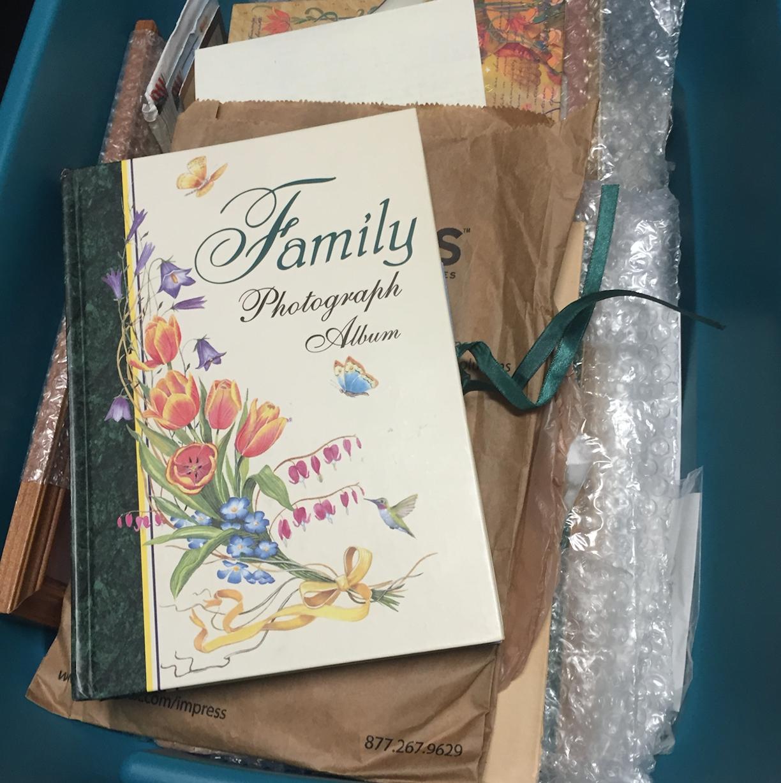 family photograph album for Legacybox