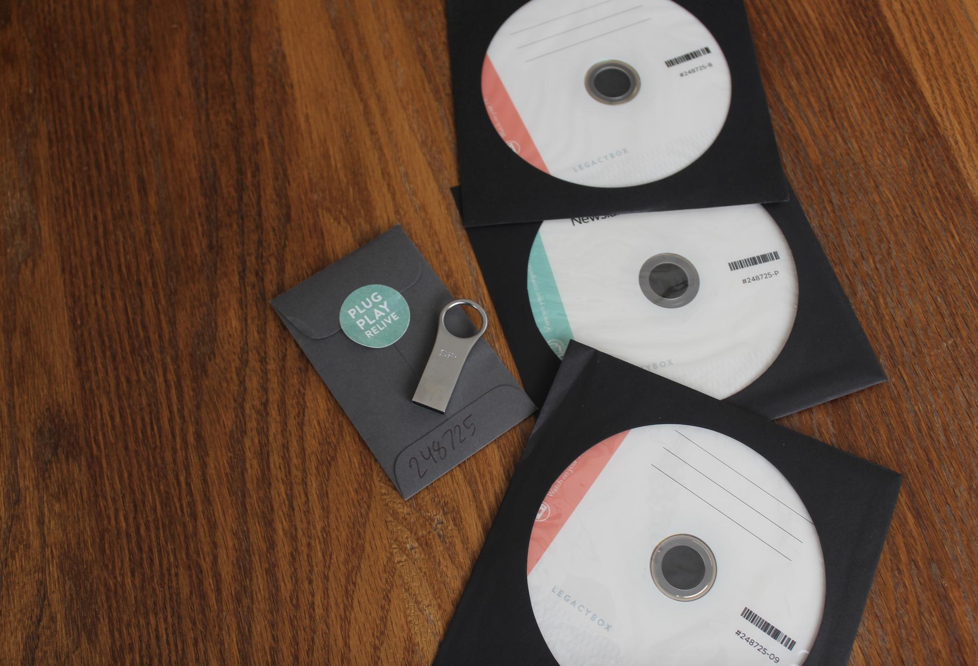 digitized Legacybox products
