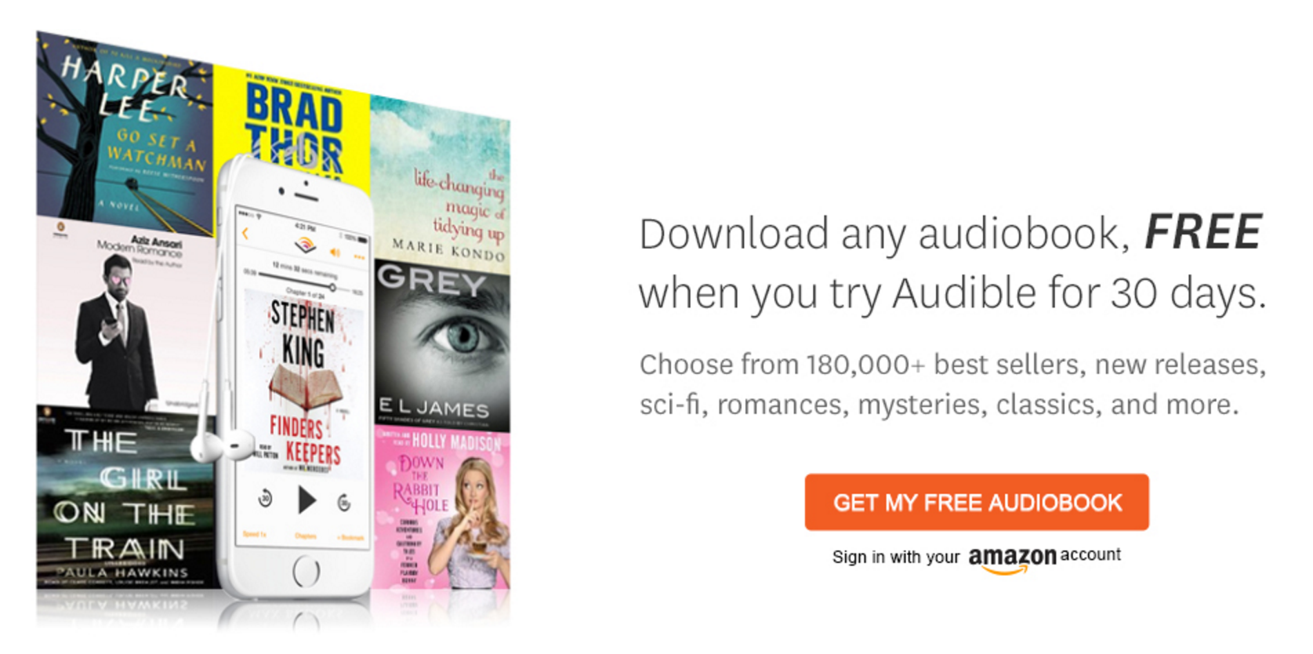 The Top 5 Audiobook Services