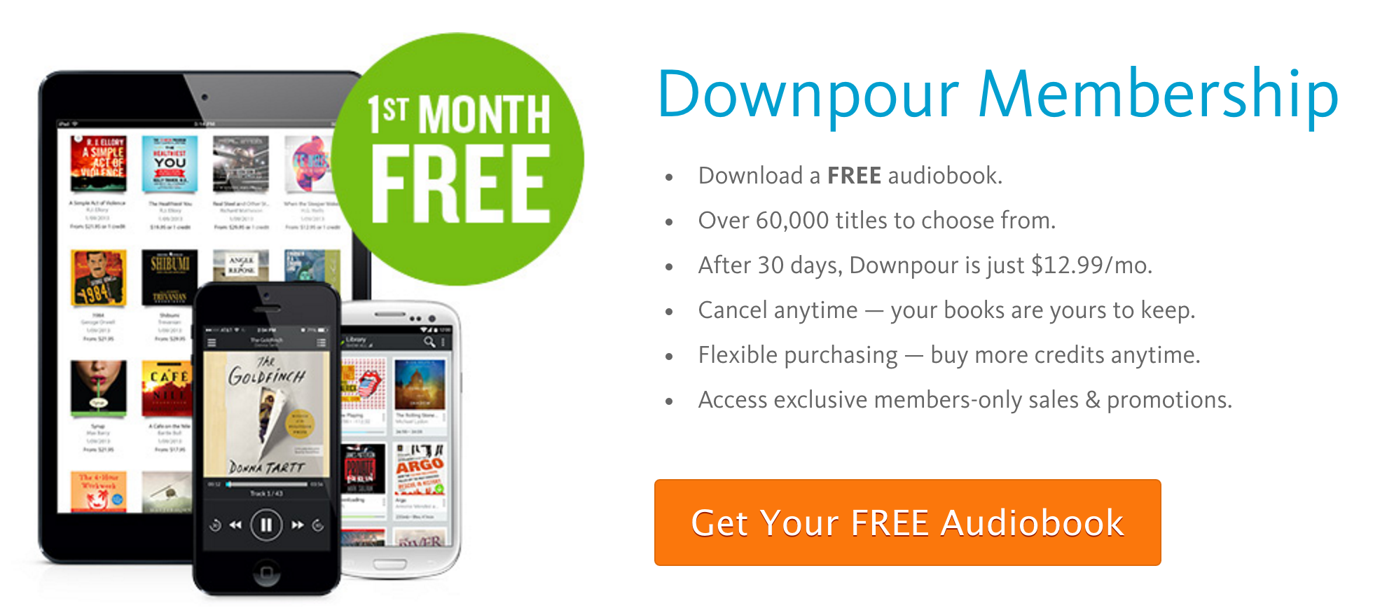 Free audio books without membership