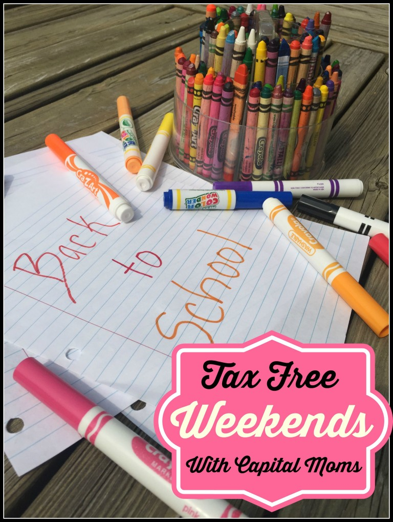 Tax Free Weekends 2016