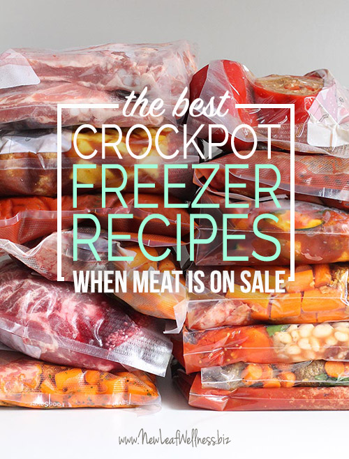 The Best Crockpot Freezer Recipes When Meat Is On Sale