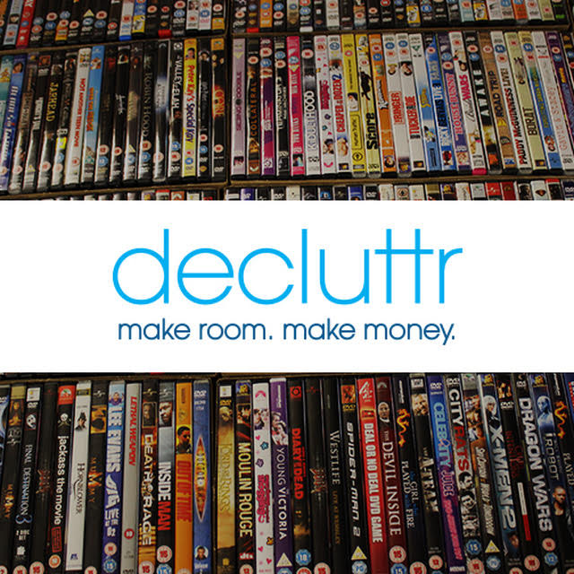 Earn money from your clutter with Decluttr.com!