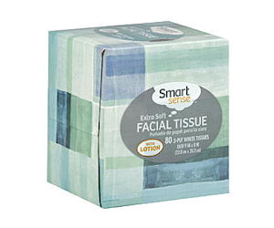 Download the Kmart mobile app to get a FREE Smart Sense Facial Tissue product!