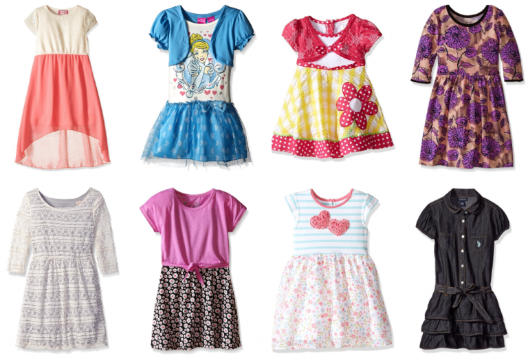 Get Girls' Dresses as low as $4.09 right now on Amazon!