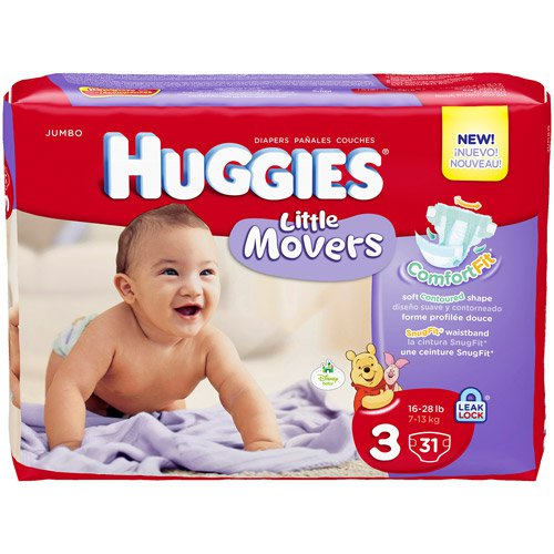 Get Huggies Jumbo Pack Diapers for just $3.99 at Target, today only!