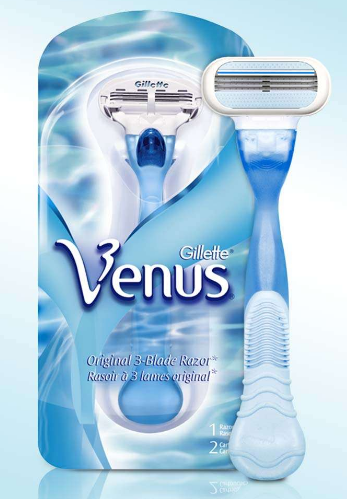 Get the Gillette Venus or Fusion Razor for just $0.49 at CVS right now!