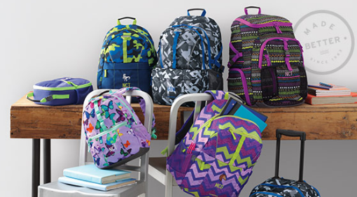 Get 50% off Lands' End Classmate Backpacks, plus get FREE shipping and FREE monogramming!