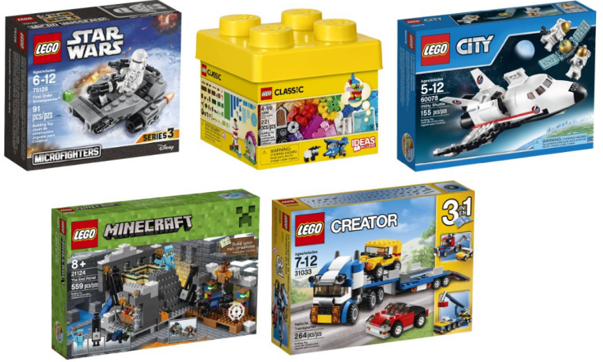 Get 10 different LEGO Sets up to 53% off right now on Amazon! Great time to stock-up!