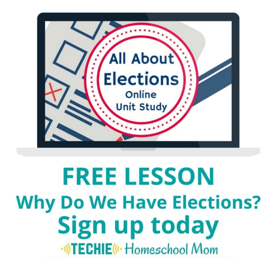 Sign up for a free online Why Do We Have Elections Lesson!