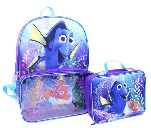 Get a free Disney Finding Dory backpack and lunch bag set after rebate at Kohl's!