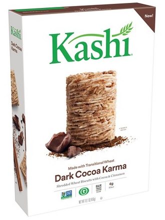 Get the new Kashi Dark Cocoa Karma Cereal for just $0.29 at Target right now!