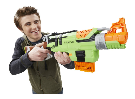 Get the Nerf Zombie Strike SlingFire Blaster for just $14.39!