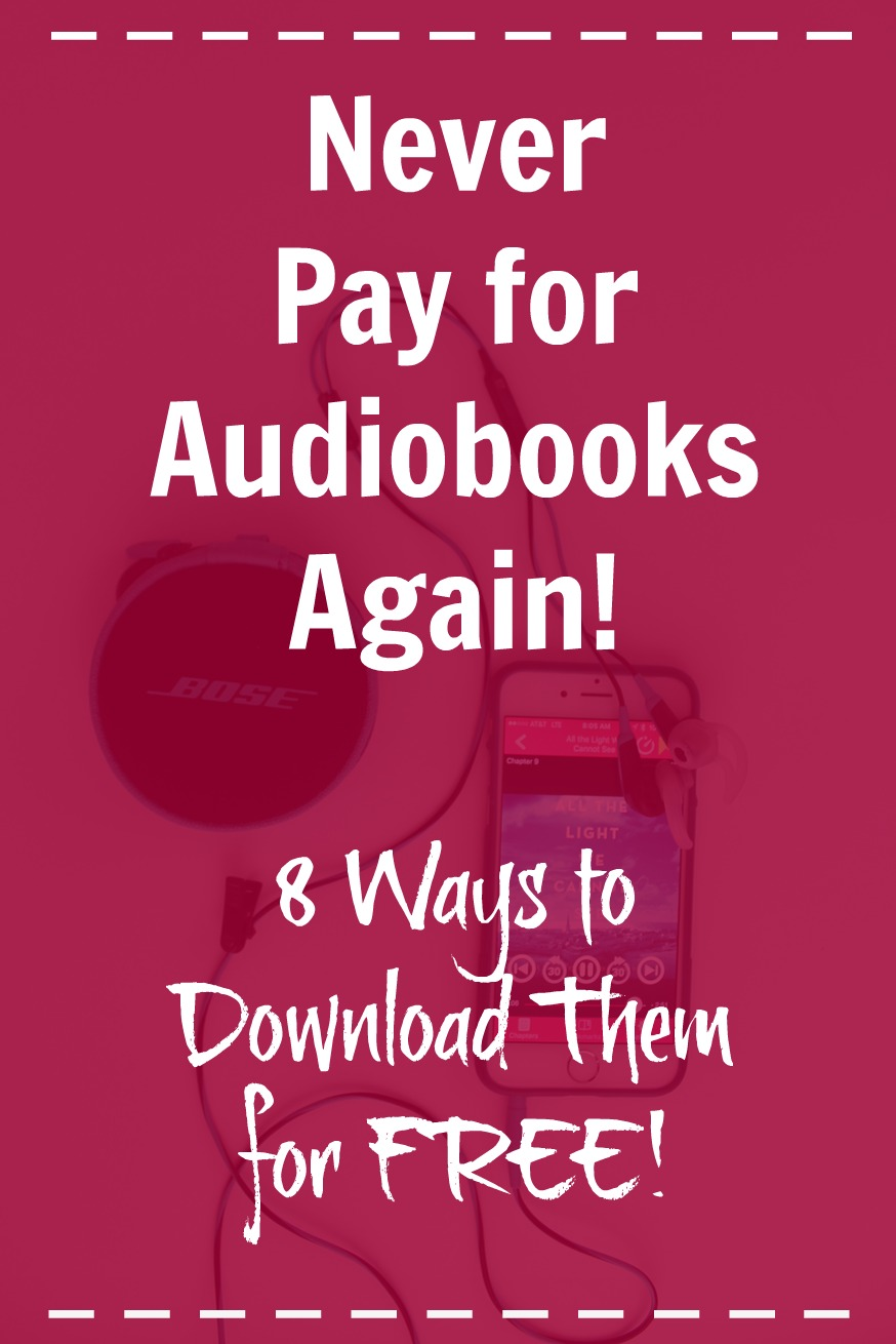 Never Pay for Audiobooks Again!