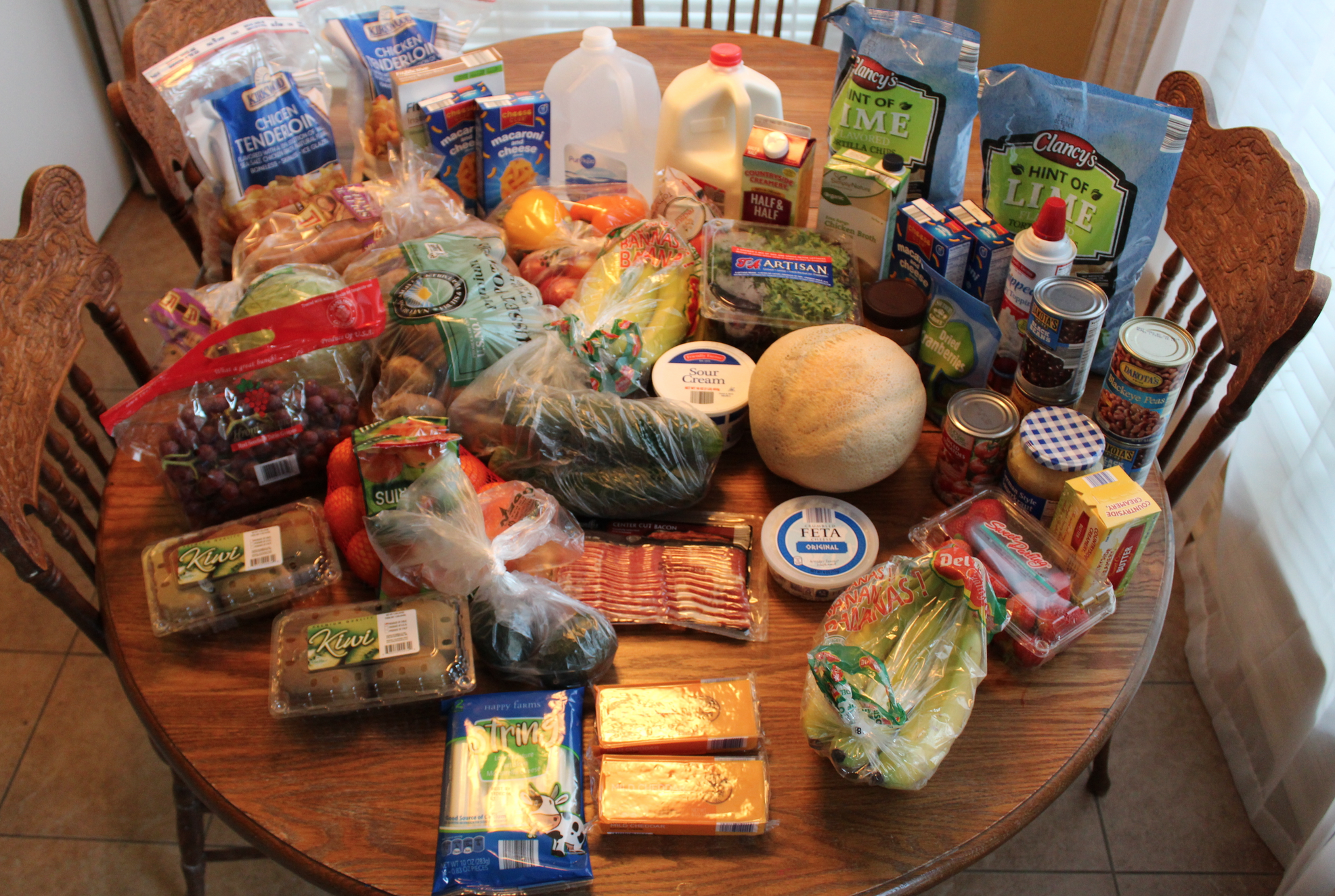 This Week's $83 ALDI Shopping Trip