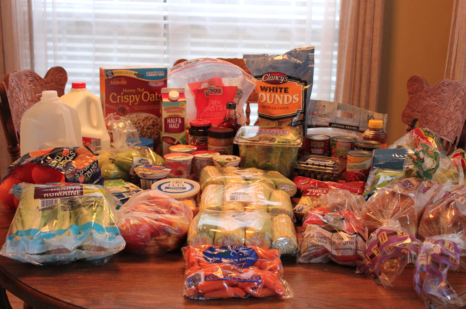 This Week's $100 Grocery Shopping Trip