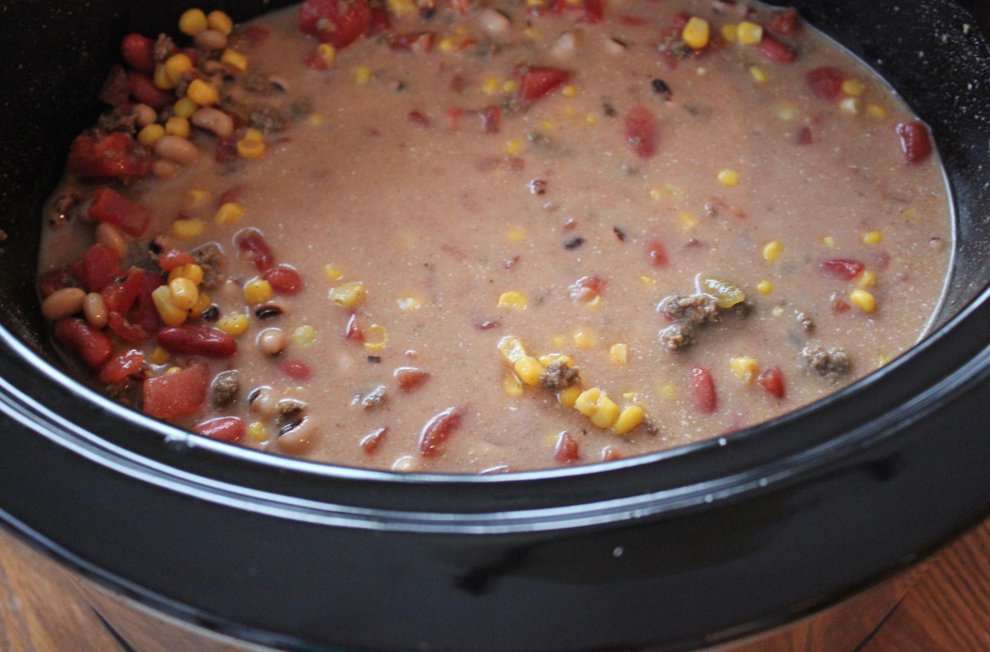 Crockpot Taco Soup