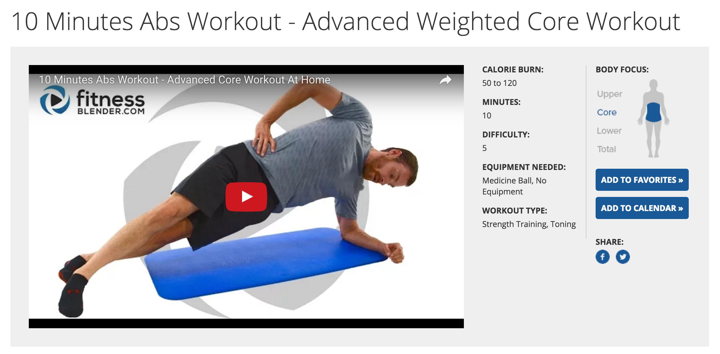Free Workout Videos Online