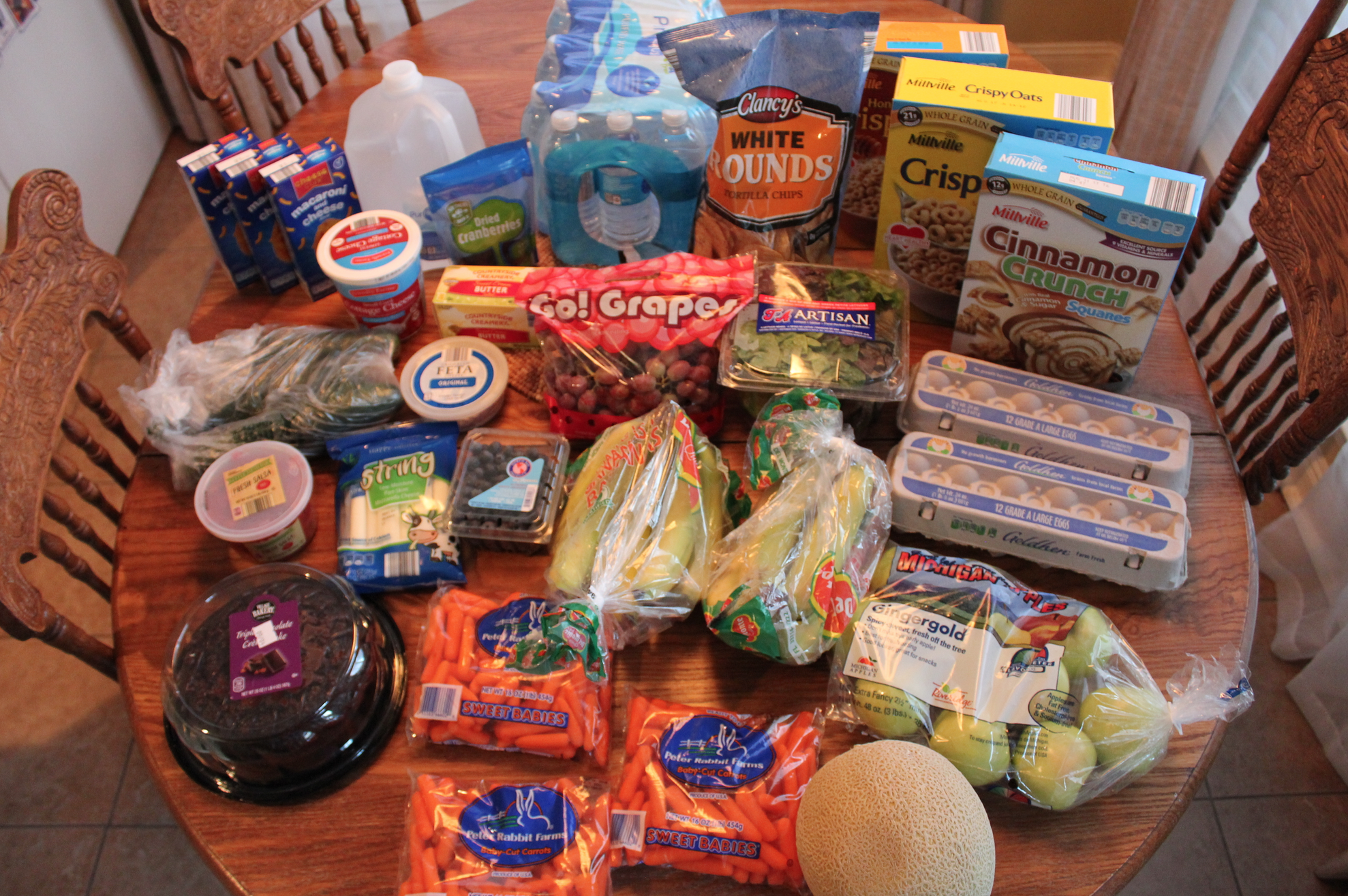 This Week's $52 Grocery Shopping Trip